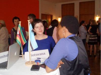 "29.06.2012: ""Speed-Dating"" with african Diplomats, Berlin"