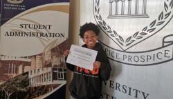 Grußwort unserer INISA-Stipendiatin 2018 Yoliswa Masengemi