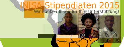 Ernennung der aktuellen INISA Stipendiaten 2015